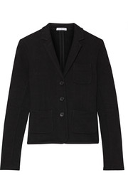 James Perse French cotton-terry blazer