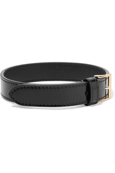 Gucci - Leather Choker - Black