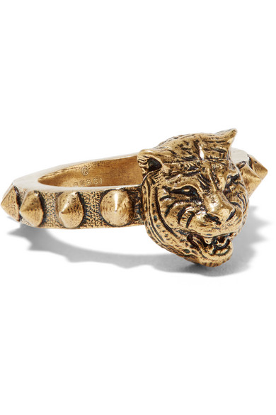 Gucci - Gold-tone Ring