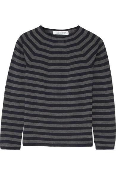 Comme des Garçons Comme des Garçons - Striped Wool Sweater - Navy