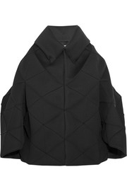 Paneled neoprene jacket