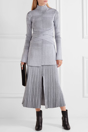 Proenza Schouler Plated-knit turtleneck sweater