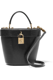Dolce lizard-effect leather bucket bag
