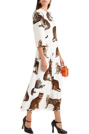 Dolce & Gabbana Printed cady dress
