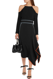Peter Pilotto Asymmetric wrap-effect cady skirt