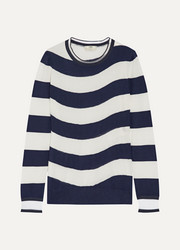 Fendi Striped cashmere-blend sweater