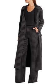 Bottega Veneta Houndstooth wool and cashmere-blend coat