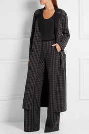 Bottega Veneta Houndstooth wool-blend wide-leg pants