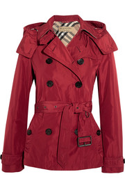 Burberry Balmoral hooded shell trench coat