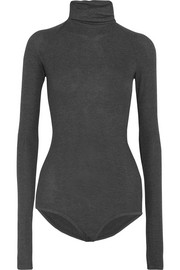 Varick ribbed stretch-jersey turtleneck bodysuit