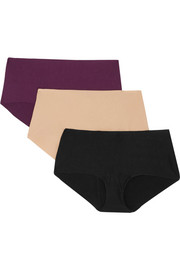 Butter set of three stretch-Micro Modal briefs