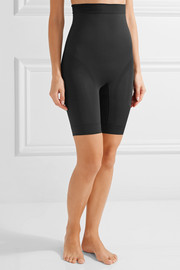 Kara high-rise stretch-jersey shorts