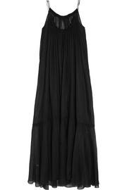 Alice Fell oversized cotton-mousseline maxi dress