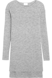 DKNY Ribbed cotton-blend sweater
