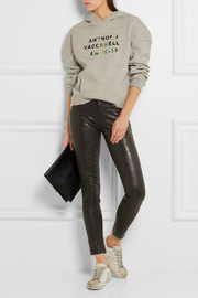 Le Skinny stretch-leather pants