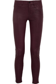Le Skinny De Jeanne leather pants