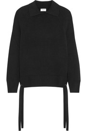 Side Tie cashmere sweater