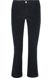 Le Crop corduroy slim-leg pants