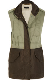 Rag & bone Kinsley cotton and twill gilet