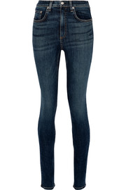 Dive mid-rise skinny jeans