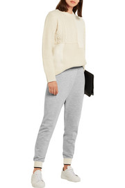 Rag & bone Wrap-effect cotton-blend jersey track pants