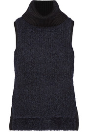 Adele ribbed wool-blend turtleneck sweater