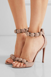 Alaïa Studded patent-leather sandals