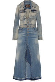 Roberto Cavalli Stretch-denim coat