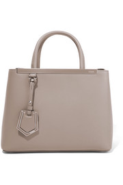 Fendi 2Jours small leather shopper