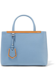 Fendi 2Jours Petite leather shopper