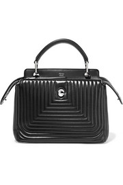 Fendi DotCom Click quilted leather tote
