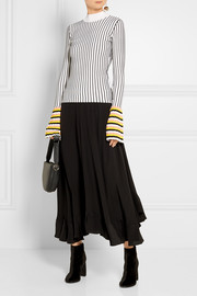 Emilio Pucci Striped ribbed-knit sweater