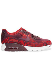 Quickstrike Air Max 90 Ultra LOTC embroidered suede sneakers