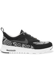 Quickstrike Air Max Thea LOTC embroidered suede sneakers