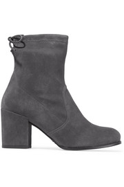 Shorty stretch-suede ankle boots