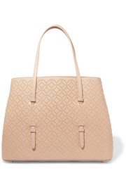 Arabesque medium embellished leather tote