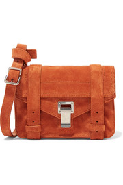 Proenza Schouler The PS1 mini suede satchel
