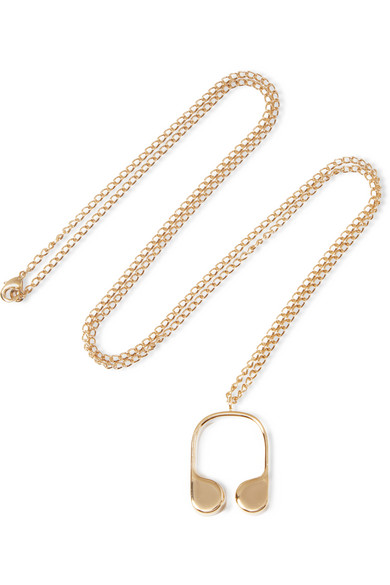 J.W.Anderson - Gold-plated Necklace