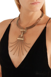 Elvira gold-tone necklace