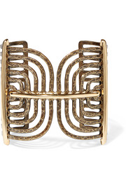 Elvira gold-plated cuff