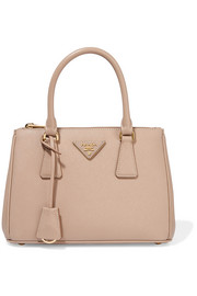 Prada Galleria small textured-leather tote