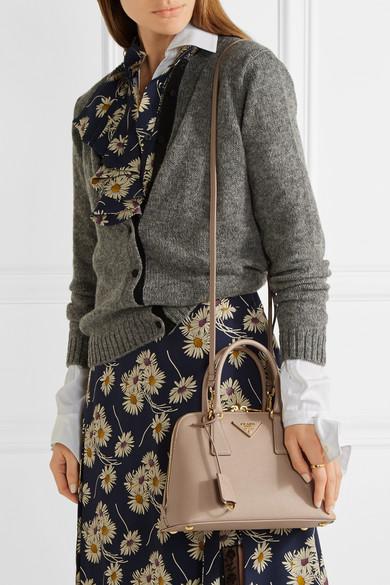 6a624652fe5b54 Prada | Promenade textured-leather tote | NET-A-PORTER.COM