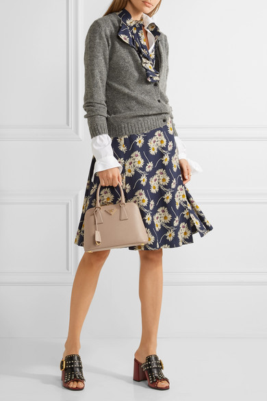 f5aefbc239c692 Prada | Promenade textured-leather tote | NET-A-PORTER.COM