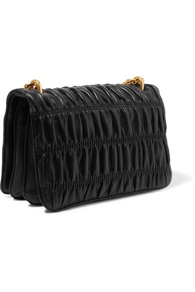 d28868f3156b Prada | Matelassé leather shoulder bag | NET-A-PORTER.COM