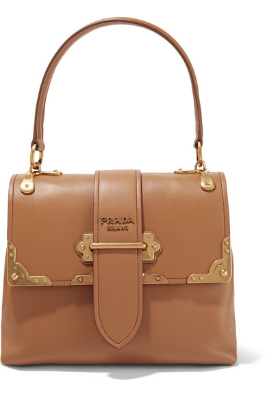 ad716c2a76de6a Prada | Cahier large leather tote | NET-A-PORTER.COM