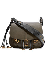 Corsaire embellished leather shoulder bag
