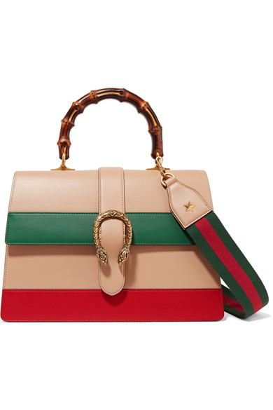 Gucci - Dionysus Bamboo Leather Tote - Sand