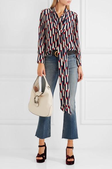 7133b601ee66 Gucci | Dionysus Hobo small leather shoulder bag | NET-A-PORTER.COM