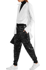 KENZO Printed cotton-jersey track pants