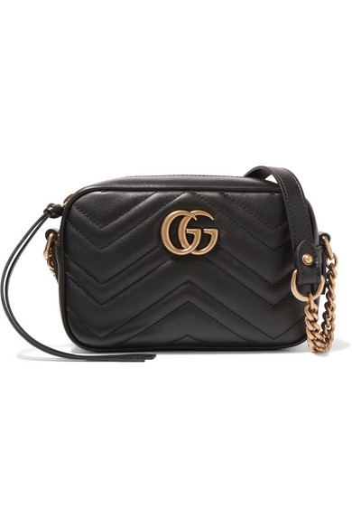 c2451ba31 Gucci | GG Marmont Camera mini quilted leather shoulder bag | NET-A ...